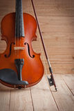 Vintage of violin and fiddle Stock Photography