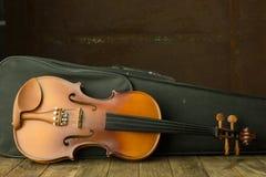 Vintage violin Royalty Free Stock Photography