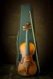 Vintage violin Stock Photography