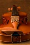Vintage violin Stock Images