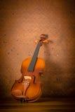 Vintage violin Stock Photo