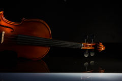 Vintage violin orchestra musical instruments. Old Violin orchestra musical instruments Royalty Free Stock Photos