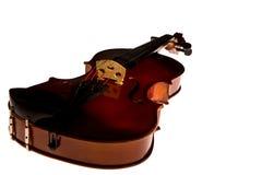 Vintage violin orchestra musical instruments Stock Image