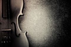 Vintage violine Fotos de Stock Royalty Free