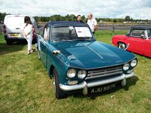 Vintage Vitesse car. Displayed outdoor at Northumberland Wings & Wheels festival at Eshott Airfield north of Morpeth, England, taken on August 20, 2017 stock image