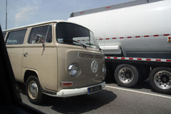 Vintage volkswagen Fotos de Stock