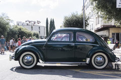 Vintage Volkswagen beetle in the 23rd VW classic air-cooled . Royalty Free Stock Images