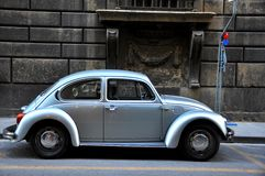 Vintage Volkswagen in Italy Royalty Free Stock Photography