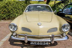 Vintage Volkswagen Karmann Ghia from 1970 stock photos
