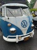 Vintage Volkswagon van stock images