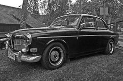 Vintage Volvo Amazon during old cars race Stock Photos