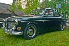 Vintage Volvo Amazon parked Stock Photo
