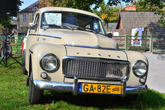 Classic Swedish car Volvo P544 car parked Stock Photography