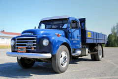 Vintage Volvo N84 Truck at Summer Royalty Free Stock Photography