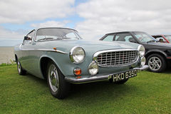 Vintage volvo p1800. Photo of a vintage volvo showing at whitstable car show on 8th june 2013 Stock Photos