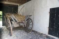 A vintage wagon stock photo