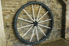 Vintage wagon wheel Royalty Free Stock Photos
