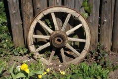 Vintage wagon wheel Royalty Free Stock Photo