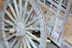 Vintage wagon wheel Royalty Free Stock Image