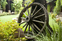Vintage Wagon Wheel Stock Photos