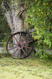 Vintage Wagon Wheel - Puerto Montt - Chile Royalty Free Stock Images