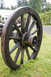 Vintage Wagon Wheel - Puerto Montt - Chile Royalty Free Stock Photography