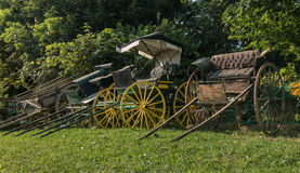Vintage Wagons Stock Image