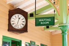 Vintage waiting room Royalty Free Stock Image