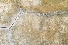 Vintage wall cement old texture damage floor concrete for background.  stock images