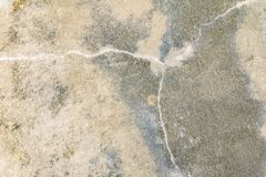Vintage wall cement old texture damage floor concrete for background.  stock image