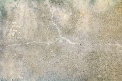 Vintage wall cement old texture damage floor concrete for background.  stock photography