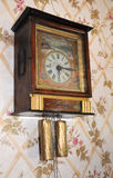 Vintage wall clock Royalty Free Stock Image