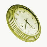 Vintage Wall Clock Royalty Free Stock Image