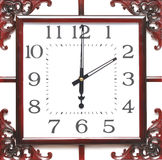 Vintage wall clock Royalty Free Stock Photography