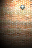 Vintage wall lamp Stock Images