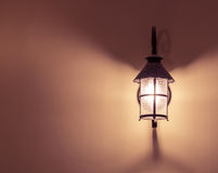 Vintage wall lamp Royalty Free Stock Photos