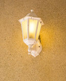 Vintage wall lamp Stock Photography