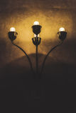 Vintage Wall Light Lamp Royalty Free Stock Photography