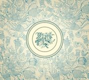 Vintage wall-paper Royalty Free Stock Images