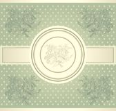 Vintage wall-paper Stock Images