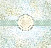 Vintage wall-paper royalty free illustration