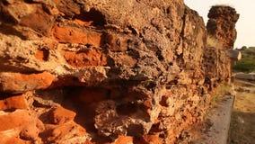 Vintage wall Texture Rajasthan India stock video footage