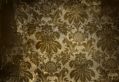 Vintage wallpaper. With a grunge affect Royalty Free Stock Photography