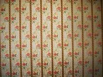 Vintage wallpaper. As an interior background Stock Photos