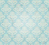 Vintage wallpaper. Vintage seamless wallpaper in grunge style. EPS10 vector illustration Royalty Free Stock Images