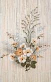 Vintage wallpaper background Stock Photo
