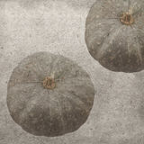 Vintage wallpaper background. With pumpkins Royalty Free Stock Photos