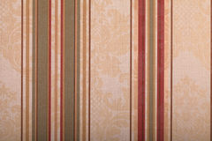Vintage wallpaper background with stripes pattern Royalty Free Stock Photos