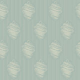Vintage wallpaper. Delicate veil-like pattern. Stock Image