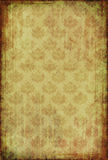 Vintage wallpaper with floral pattern Stock Image